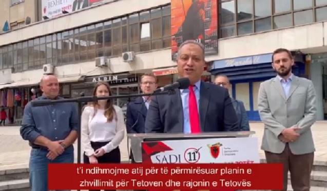 Eksperti ndërkombëtar në Tetovë në krah me Sadi Bexhetin (Video)