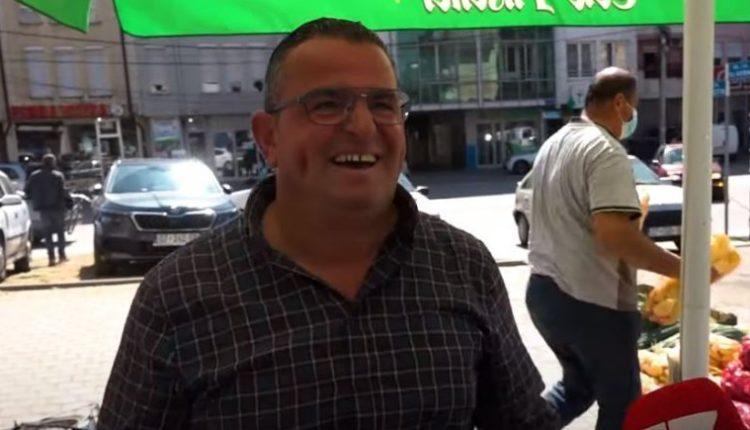 Shitësi më interesant që keni parë në Kosovë: Hajde..speca Adidas, molla HD