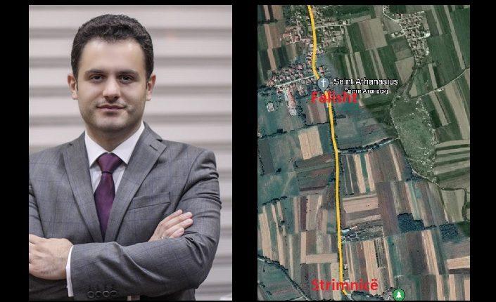 Blerim Sejdiu i mashtroi banorët e Strimnicës, nuk ndërtohet rruga Strimnicë- Falisht (FOTO)
