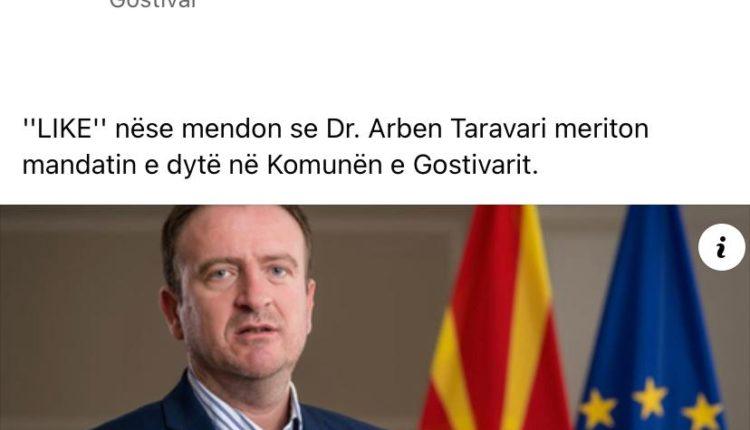Efekti i VMRO: Arben Taravari fshinë flamurin kombëtar shqiptar