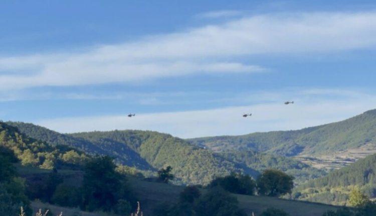 KFOR s'ka informacione që helikopterët serbë kanë kaluar vijën kufitare me Kosovën