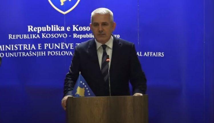Sveçla: Ka ashpërsim të retorikës nga Serbia, policia po iu ofron mbështetje institucioneve tjera aty