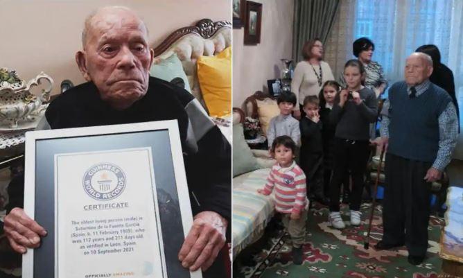 Njeriu më i vjetër në botë shpallet 112 vjeçari