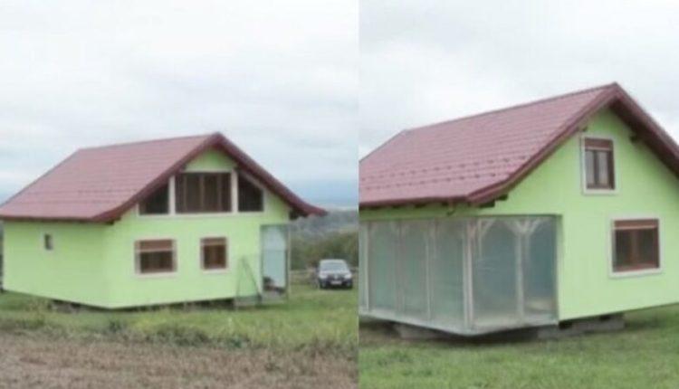 Qesharake: Ndërton shtëpinë rrotulluese pasi Iodhet nga ankesat e gruas