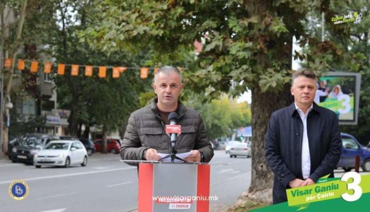 GANIU: Rrugën Cvetan Dimov në Jahja Pashë do t'a bëjmë bulevard me 6 korsi